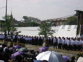 Pohřeb princezny Galyani Vathana