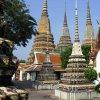 Čedí jako hrobky králů a schrány relikvií, Wat Pho