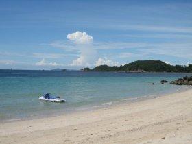 Ostrov Ko Larn u Pattaya