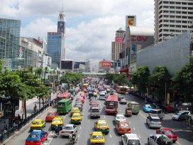 Bangkok, centrum