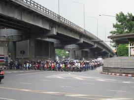 Bangkok - morky vždy první