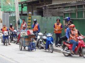 Bangkok - mototaxi