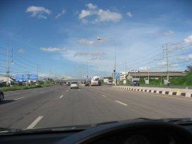 Thajská dálnice - U turn