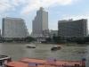 Bangkok, Chao Phraya, přívoz přes řeku