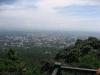Pohled na Chiang Mai z okolních kopců