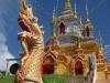 Horský chrám na úpatí Doi Inthanon