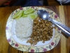 Běžná porce ve foodcourtu