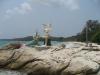 Socha prince a mořské panny na ostrově Ko Samet
