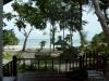 Pohled z bungalovu na ostrově Ko Samet