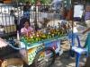 Loi Krathong - prodavačka krathongů