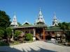 Buddhistické chrámy v Mae Sariang jsou v barmském stylu