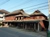 Tradiční domy v Mae Sariang