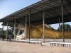 Wat Thai Watthanaram - obrovský ležící Buddha, Mae Sot