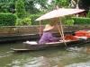 Bangkokské kanály, rambutan pro turisty