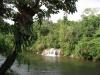 Jeden z vodopádů národního parku Sai Yok