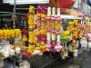 Bangkok, stánky u Sri MahaMariamman