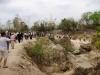 Tygří chrám, procesí návštěvníků na místo focení