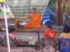 Požehnání od buddhistického mnicha