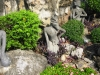 Wat Pho, sochy nahých poustevníků, zvířat, ...