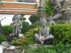Wat Pho, sochy nahých poustevníků