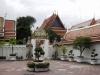 Farangové jako strážci chrámu Wat Pho