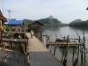 Domy na kůlech, záliv Phang Nga