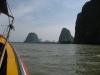 Plavba lodí zálivem Phang Nga